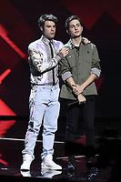 Milano 02/11/2017 - trasmissione Tv  X-Factor foto Daniele Buffa/Image/Insidefoto <br /> nella foto: Federico Lucia Fedez-Gabriele Esposito