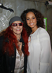 Guiding Light Patricia Field backstage at Broadway's Stick Fly at the Cort Theatre, New York City, New York with after party at 48 Lounge with Alicia Keys and cast - Ruben Santiago-Hudson, Phylicia Rahad (Santa Barbara and OLTL) along with Tracie Thoms, Dulle Hill (Psych), Mekhi Phifer. (Photo by Sue Coflin/Max Photos)