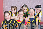 TIGERS: The Tigers team that competed at the Basketball blitz in Currow Community Centre on Sunday were l-r: Rebecca Lyons, Kathleen O'Sullivan, Hannah O'Connor, Claire Brosnan, Sharon Breen and Emma Galway.   Copyright Kerry's Eye 2008