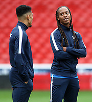 Preston North End's Daniel Johnson looks on before kick off<br /> <br /> Photographer David Shipman/CameraSport<br /> <br /> The EFL Sky Bet Championship - Nottingham Forest v Preston North End - Saturday 31st August 2019 - The City Ground - Nottingham<br /> <br /> World Copyright © 2019 CameraSport. All rights reserved. 43 Linden Ave. Countesthorpe. Leicester. England. LE8 5PG - Tel: +44 (0) 116 277 4147 - admin@camerasport.com - www.camerasport.com