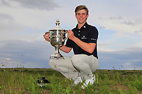 Martin Vorster (RSA) winner of The East of Ireland Amateur Open Championship in Co. Louth Golf Club, Baltray on Monday 3rd June 2019.<br /> <br /> Picture:  Thos Caffrey / www.golffile.ie<br /> <br /> All photos usage must carry mandatory copyright credit (© Golffile | Thos Caffrey)
