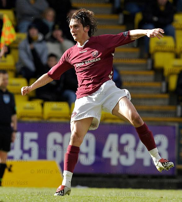 Devidas Cesnauskis, Hearts.stock season 2005-2006.pic willie vass