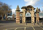 HMS Nelson Royal Navy base, Portsmouth, Hampshire, England
