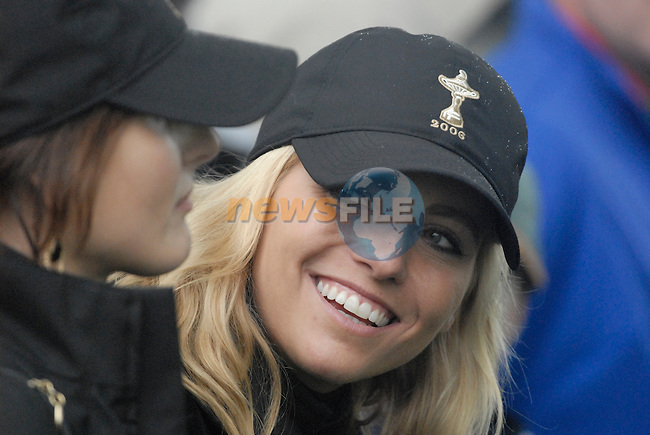 23rd September, 2006. .USA Ryder Cup Team WAGs during the afternoon fourball session of the second day of the 2006 Ryder Cup at the K Club in Straffan, County Kildare in the Republic of Ireland..Photo: Eoin Clarke/ Newsfile.