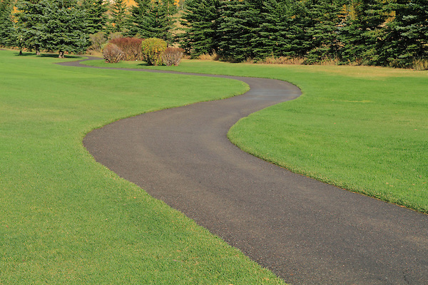 Pathway at Vail Golf Course, Vail Colorado.