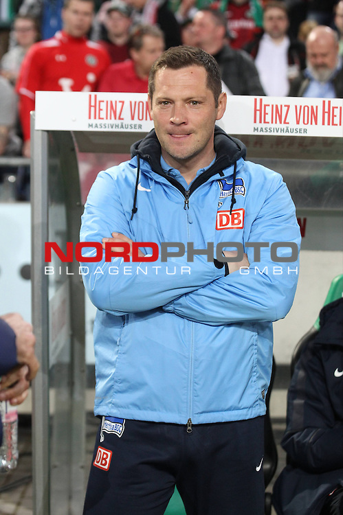 10.04.2015, HDI-Arena, Berlin, GER, 1.FBL,Hannover 96 vs. Hertha BSC  , im Bild Cheftrainer (Head Coach) Pal Dardai (Hertha BSC Berlin)<br /> <br />               <br /> Foto &copy; nordphoto /  Engler