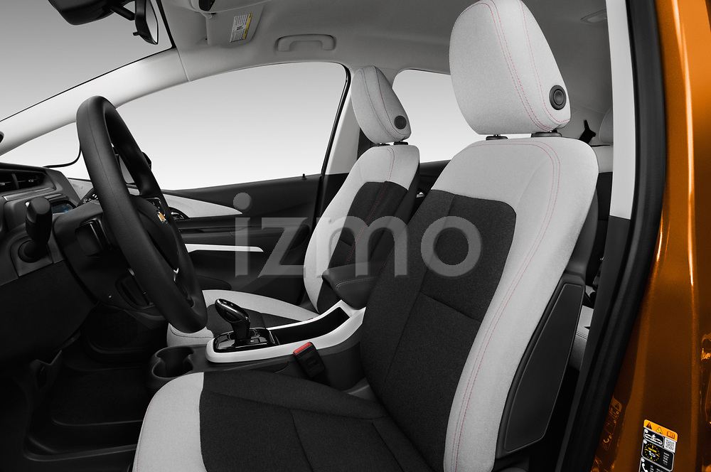 Front seat view of 2018 Chevrolet Bolt-EV LT 5 Door Hatchback Front Seat  car photos