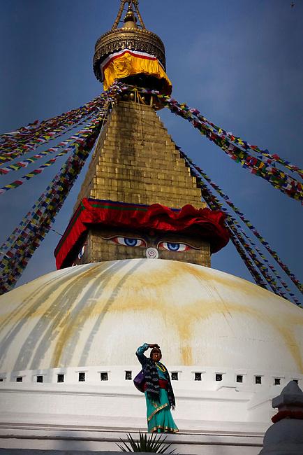 swayambhunath stupa, Boudhanath, Nepal