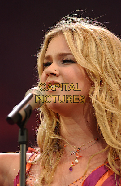 JOSS STONE.Live 8 concert to raise awareness for an end to extreme poverty in Africa..©Phil Loftus/Capital Pictures.London 2 July 2005.live8 aid.www.capitalpictures.com.sales@capitalpictures.com.© Capital Pictures.