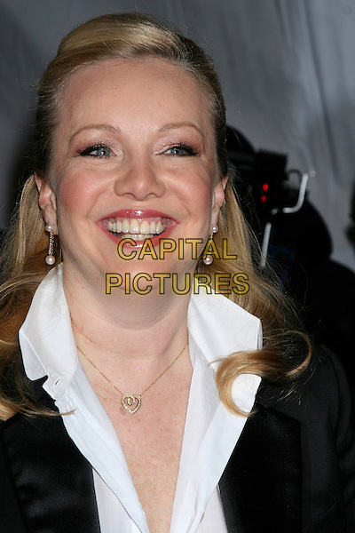 "SUSAN STROMAN .""The Producers"" New York Premiere at the Ziegfeld Theatre, New York City..December 4th, 2005 .Ref: IW.headshot portrait dangling pearl earrings.www.capitalpictures.com.sales@capitalpictures.com.©Capital Pictures"
