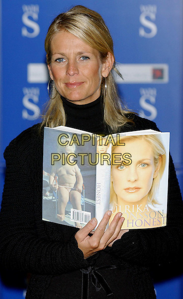"ULRIKA JONSSON.attends booksigning for her new biography ""Honest"" at WHSmith, Brent Cross.Ref: Wiz.www.capital pictures.com.©Capital Pictures"
