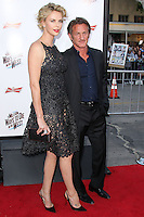 "WESTWOOD, LOS ANGELES, CA, USA - MAY 15: Charlize Theron, Sean Penn at the Los Angeles Premiere Of Universal Pictures And MRC's ""A Million Ways To Die In The West"" held at the Regency Village Theatre on May 15, 2014 in Westwood, Los Angeles, California, United States. (Photo by Xavier Collin/Celebrity Monitor)"