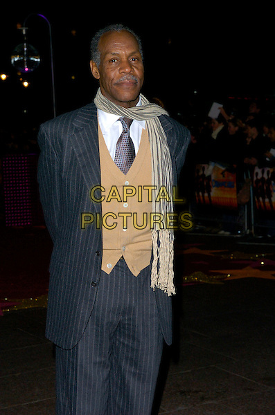 "DANNY GLOVER.Attending the UK Film Premiere of ""Dreamgirls"", .Odeon Leicester Square, London, England, .January 21st 2007..half length beige waistcoat grey suit.CAP/CAN.©Can Nguyen/Capital Pictures"