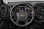Car pictures of steering wheel view of a 2016 Chevrolet Silverado 1500 LS 4 Door Pickup Steering Wheel