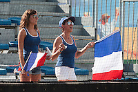 19 August 2010: Fans are seen during France 7-6 win over Slovakia, at the 2010 European Championship, under 21, in Brno, Czech Republic.