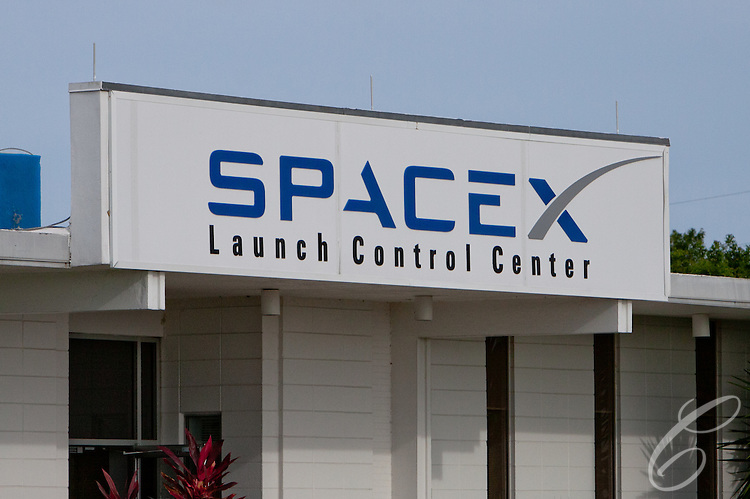 SpaceX's Launch Control Center at Cape Canaverale, Florida.