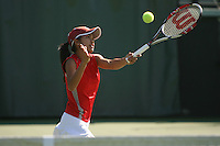 STANFORD, CA - OCTOBER 28:  Hilary Barte of the Stanford Cardinal during picture day on October 28, 2008 at the Taube Family Tennis Stadium in Stanford, California.
