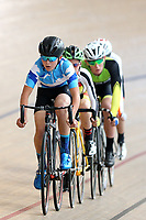 Jacob Rackham of Auckland competes in the U15 Boys Point Race  at the Age Group Track National Championships, Avantidrome, Home of Cycling, Cambridge, New Zealand, Thurssday, March 16, 2017. Mandatory Credit: © Dianne Manson/CyclingNZ  **NO ARCHIVING**