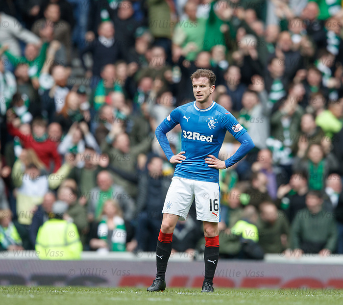 Rangers dejection, Andy Halliday