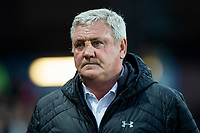 Aston Villa manager Steve Bruce ahead of the Sky Bet Championship match between Aston Villa and Cardiff City at Villa Park, Birmingham, England on 10 April 2018. Photo by Mark  Hawkins / PRiME Media Images.