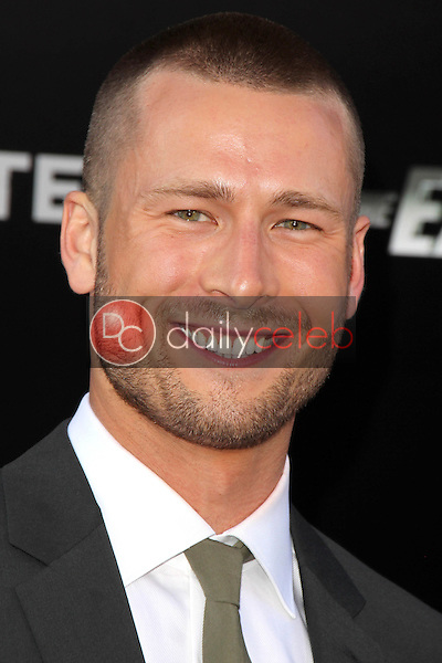 Glen Powell<br /> at &quot;The Expendables 3&quot; Los Angeles Premiere, TCL Chinese Theater, Hollywood, CA 08-11-14<br /> David Edwards/Dailyceleb.com 818-249-4998