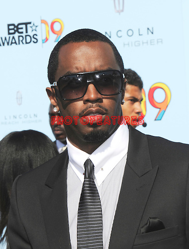 "Sean 'P.Diddy"" Combsat the 2009 BET Awards at the Shrine Auditorium in Los Angeles on June 28th 2009..Photo by Chris Walter/Photofeatures"