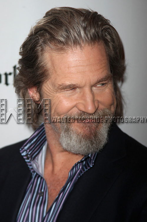Jeff Bridges.attending the New York Times Arts & Leisure Weekend at theTimes Center in New York City. January 10, 2010 .© Walter McBride /
