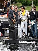 Henley Royal Regatta, Henley on Thames, Oxfordshire, 28 June - 2 July 2017.  Wednesday  14:38:19   28/06/2017  [Mandatory Credit/Intersport Images]<br /> <br /> Rowing, Henley Reach, Henley Royal Regatta.<br /> Elvis Presley lives again