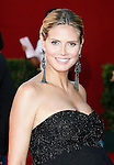LOS ANGELES, CA. - September 20: Heidi Klum arrives at the 61st Primetime Emmy Awards held at the Nokia Theatre on September 20, 2009 in Los Angeles, California.