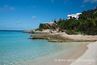 The Caribbean, Anguilla. Malliouhana Hotel & Spa, beach.
