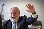 Miguel Arias Cañete Arias, EU Commissioner for Energy and Climate Action, photographed in European Commission in Berlaymont, Bruselas. Photo Delmi Alvarez.