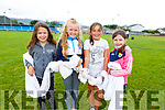 Getting all knotted and ready for their Tug O War at the Kerins O&rsquo;Rahillys Strand Road community day on Sunday.  <br /> L-r, Victoria Malachowski, Taylor Stack Shanahan, Fiadh McCarthy and Meabh Kennedy.