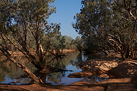 A river crossing on the Gibb River Road, on truck driver Nick Atkins journey from Kununurra to Kalumburu.