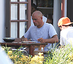 Aug 30th 2012 <br /> <br /> Eleven time World Surfing champion Kelly Slater eating lunch in Malibu California at Howdy's Mexican restaurant. After lunch Kelly walked next door and bought some over priced chocolate at the K Chocolatier. The store charges $25 for a small bag a candy.   <br /> <br /> AbilityFilms@yahoo.com<br /> 805 427 3519<br /> www.AbilityFilms.com
