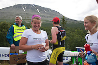 Race number 282 Nora Johansen  - Norseman 2012 - Photo by Justin Mckie Justinmckie@hotmail.com