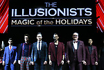 """during a press preview of """"The Illusionists - Magic of the Holidays"""" at the Neil Simon Theatre on December 3, 2019 in New York City."""