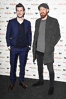 "James Collins<br /> arrives for the ""Iron Men"" premiere at the Mile End Genesis cinema, London.<br /> <br /> <br /> ©Ash Knotek  D3236  02/03/2017"