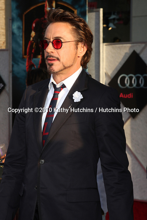 "Robert Downey Jr .arrives at  the ""Iron Man 2"" Premiere.El Capitan Theater.Los Angeles, CA.April 26, 2010.©2010 Kathy Hutchins / Hutchins Photo..."