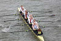 Crew: 82   Koninklijke Amsterdamsche Rzv De Hoop (NL)/Thames RC   MasGH.8+ (G)<br /> <br /> Veterans' Head of the River Race 2018<br /> <br /> To purchase this photo, or to see pricing information for Prints and Downloads, click the blue 'Add to Cart' button at the top-right of the page.