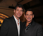 Guiding Light's Sean McDermott poses with James Barbour (star of Phantom of the Opera) as they both sing at The 29th Annual Jane Elissa Extravaganza which benefits The Jane Elissa Charitable Fund for Leukemia & Lymphoma Cancer, Broadway Cares and other charities on November 14, 2016 at the New York Marriott Hotel, New York City presented by Bridgehampton National Bank and Walgreens.  The event is a Cabaret with singer Sean McDermott (Guiding Light) (Photo by Sue Coflin/Max Photos)