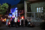 Our Lady of Fatima Procession is held every 13th May and 13th Otober in Diu, from St. Paul's Church. The 48 Catholic families of Diu honour the visions of three young children in Fatima, Portugal who saw the Virgin Mary on the 13th day of each month from May to October in 1917.