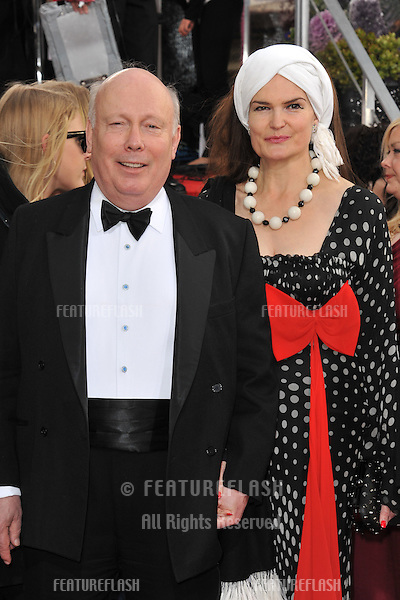 Julian Fellowes at the 70th Golden Globe Awards at the Beverly Hilton Hotel..January 13, 2013  Beverly Hills, CA.Picture: Paul Smith / Featureflash