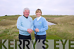 Pictured at Castlegregory's Golf Course are Men's Captain Sean O'Connor and Lady Captain Miriam Mulhall-Nolan... . ......