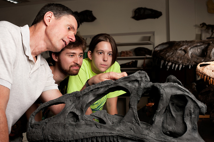 Witmer Lab HCOM Life Sciences Dinosaurs