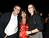 Michael Overington , Myra Scher and Lisa Overington  attend the &quot;Studio 54&quot;  Private Screening on October 4, 2018 at PUBLIC Hotel in New York, New York, USA.<br /> <br /> photo by Robin Platzer/Twin Images<br />  <br /> phone number 212-935-0770