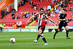 Danny Lafferty of Sheffield Utd attempts a shot on goal during the League One match at Bramall Lane Stadium, Sheffield. Picture date: September 17th, 2016. Pic Simon Bellis/Sportimage
