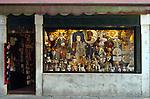 Souvenir shop, Venice, Italy, May 2007.