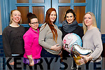 Pictured at a Baby shower Jacqui Twohig, Tralee, at the Ashe Hotel on Friday are: Sinead Griffin, Kaylee O'Connore, Jacqui Twohig, Claire McCarthy and Gillian Goggin.