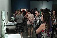 SÃO PAULO, SP, 24.05.2015 - EXPOSIÇÃO-SP - Exposição do espanhol Joan Miró conta com 112 obras do artista,sendo 48 delas de colecionadores e duas inéditas, nunca expostas. A exposição foi aberta ao público á partir de hoje até o dia 16 de agosto no Instituto Tomie Ohtake no bairro de Pinheiros região oeste de São Paulo neste domingo, 24. (Foto: Marcos Moraes / Brazil Photo Press).