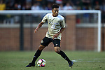 10 September 2016: Wake Forest's Alex Knox. The Wake Forest University Demon Deacons hosted the University of Virginia Cavaliers in a 2016 NCAA Division I Men's Soccer match. Wake Forest won the game 1-0 in sudden death overtime.